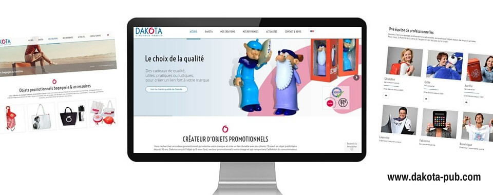 Réalisation du site internet vitrine multinlingue de Dakota pub