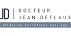 Logo de docteur deflaux esthétique