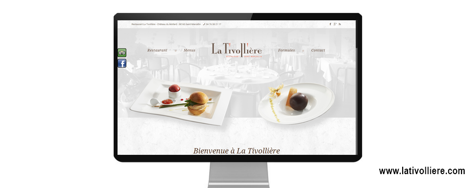 Refonte du site internet vitrine de la Tivollière