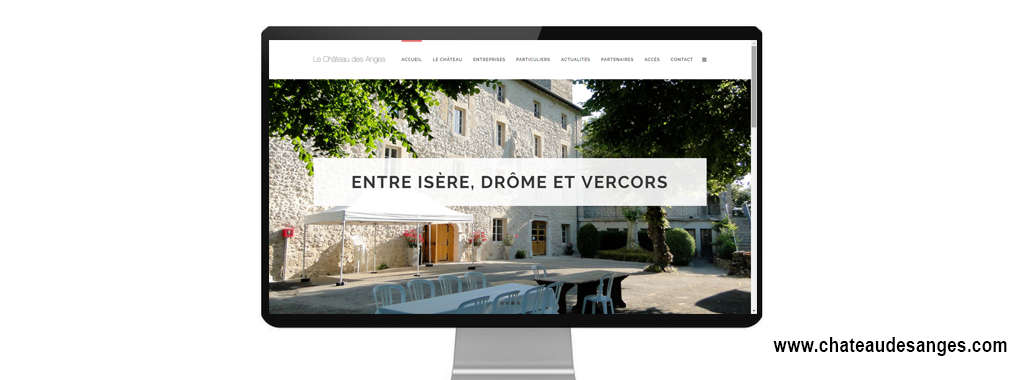 Refonte du site internet du chateau des anges