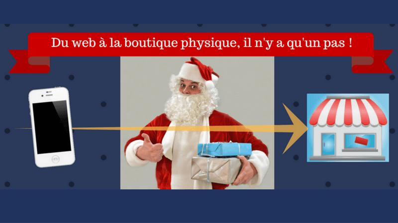 Techniques web to store pour les achats de Noël