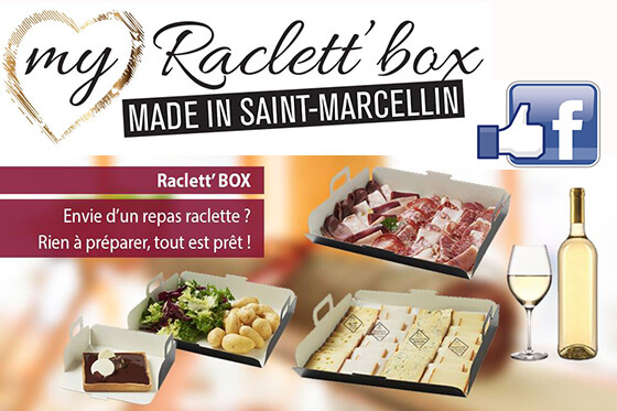beau succès sur facebook_ raclett box made in St-Marcellin