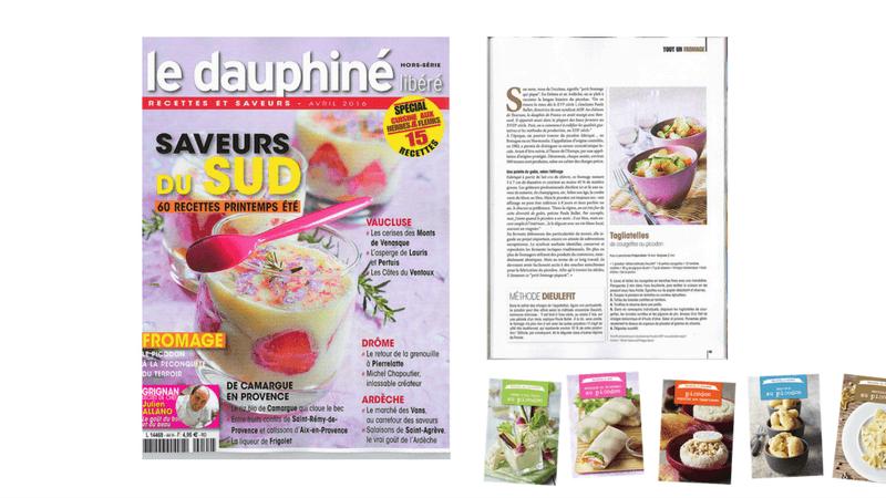 Boostacom dans la presse - agence web et communication - Article du Dauphiné – Picodon