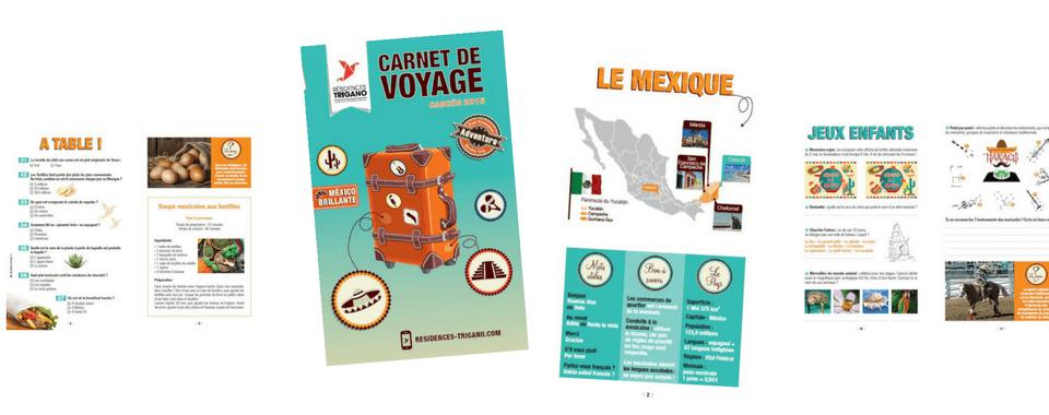 Carnet de Voyages réalisé par Boostacom
