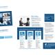 Charte graphique - carte de visite - plaquette Vocation Recrutement - réalisation Boostacom