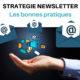 strategie newsletter - envoi d'une newsletter - Boostacom