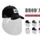 BRDO ART - Visière de protection - Casquette avec visière de protection