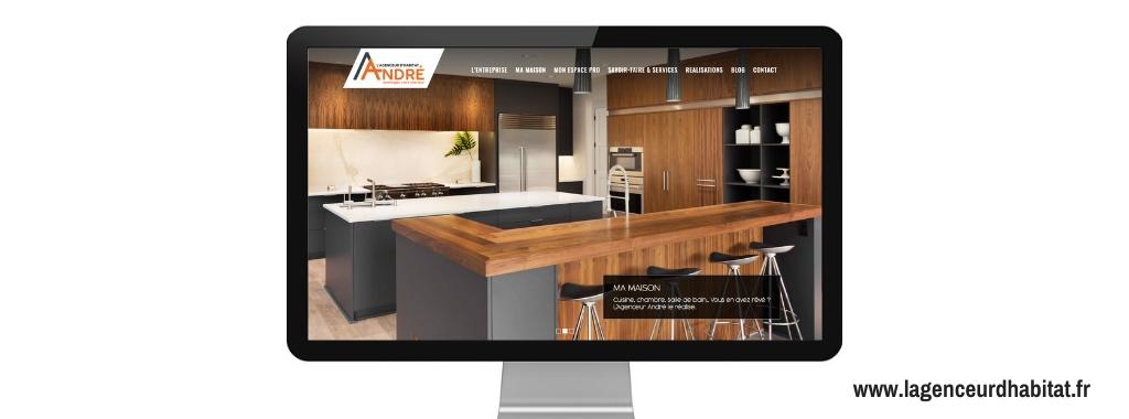 Boostacom-réalisation-André Agenceur Habitat