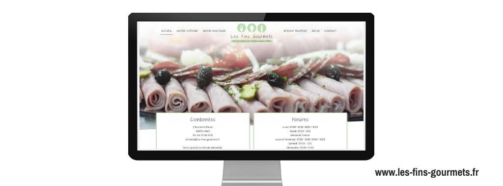 Boostacom-réalisation-Les Fins Gourmets