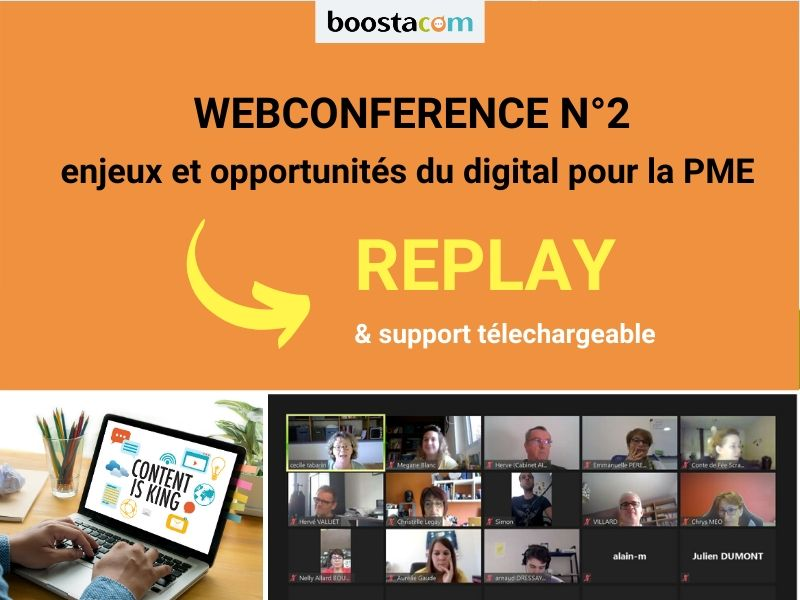 BOOSTA - Visio-conférence gratuite N°2