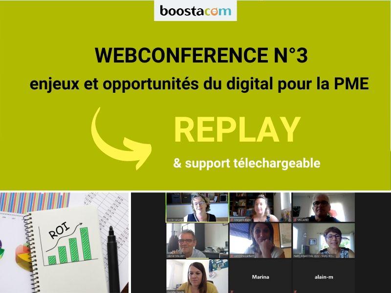 BOOSTA - Visio-conférence gratuite N°3