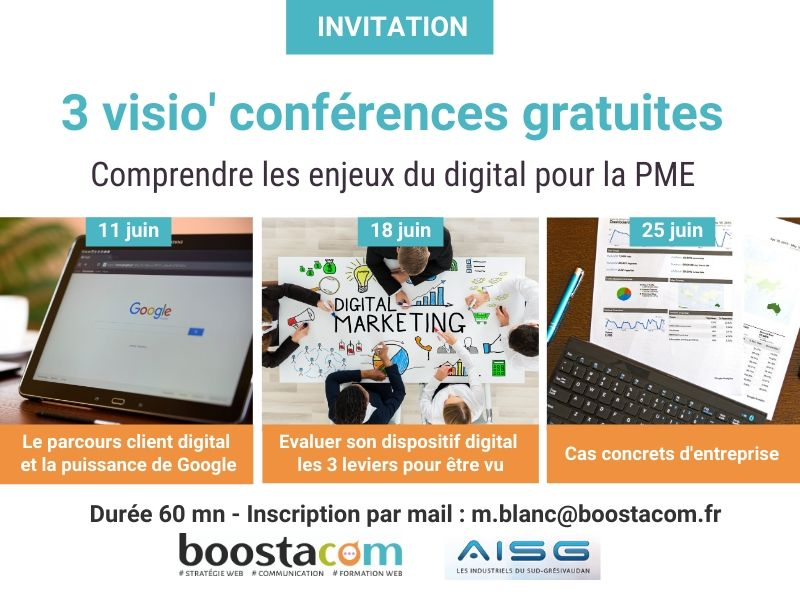 BOOSTA - Visio-conférences gratuites
